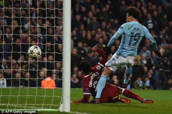 Man City bị tước mất 1 bàn thắng