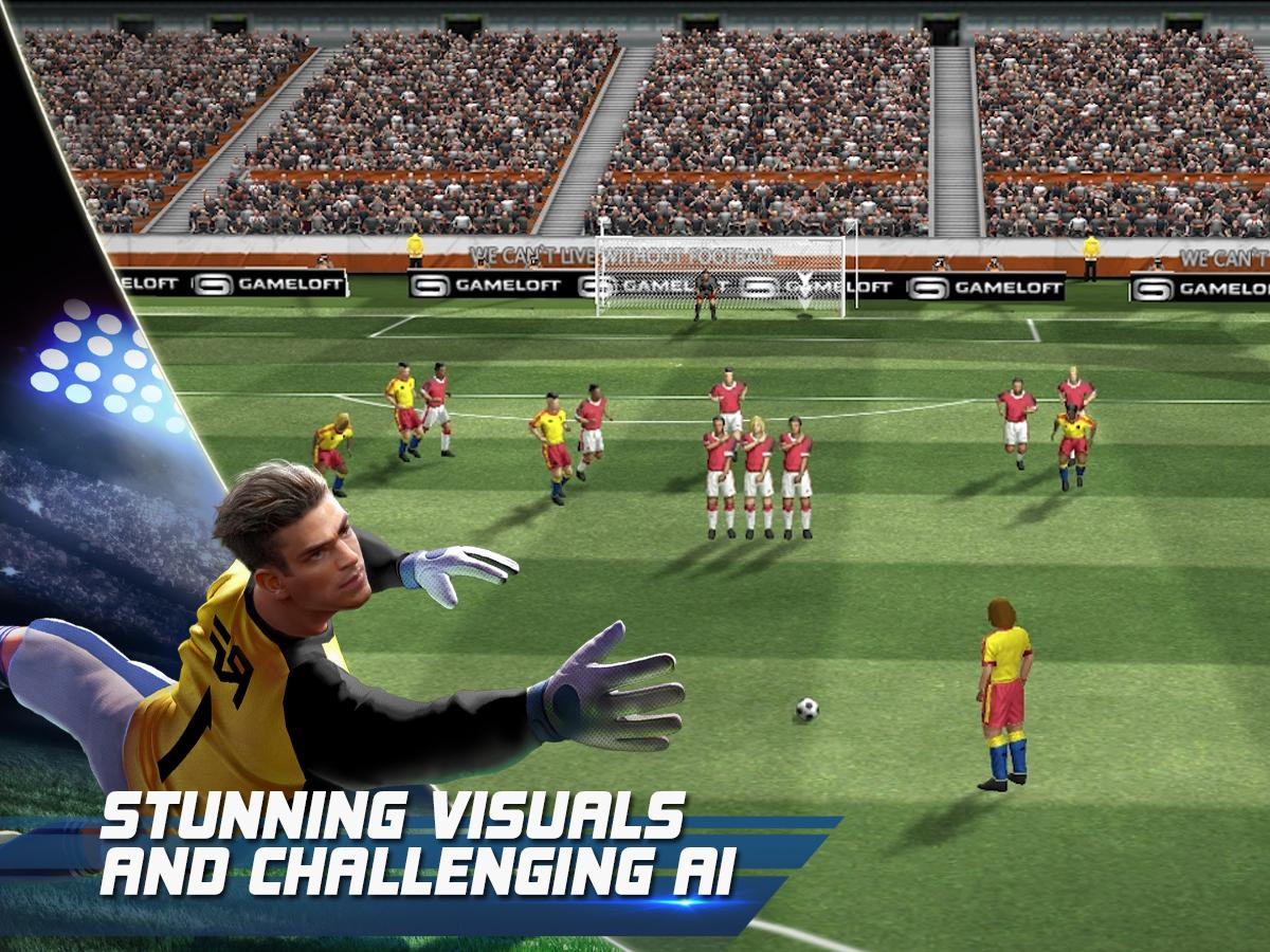 3. Game Real Football cho Android
