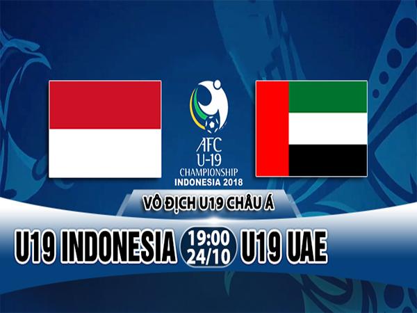 Nhận định U19 Indonesia vs U19 UAE