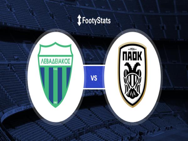 Tip bóng đá Levadiakos vs PAOK, 0h30 ngày 18/12
