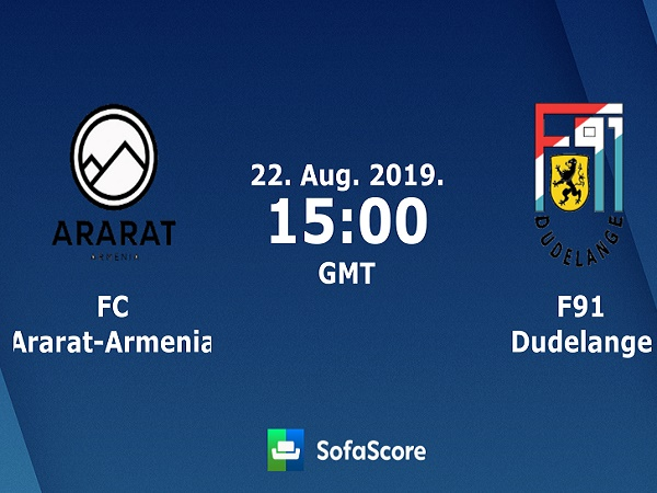 Nhận định Ararat-Armenia vs Dudelange, 22h00 ngày 22/08