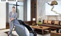 Sử dụng ghế massage để chăm sóc sức khỏe mỗi ngày.