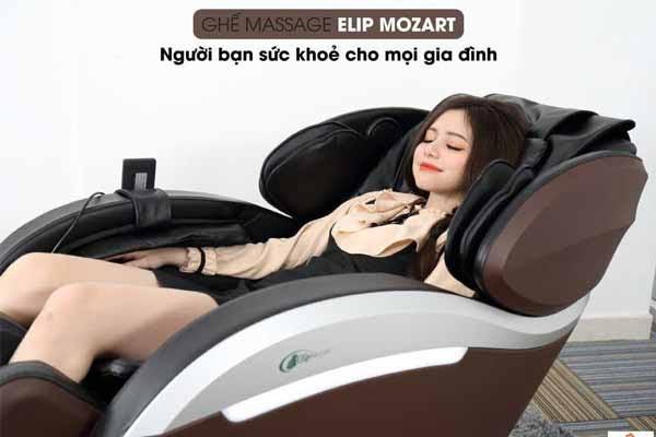 Ghế massage tăng cường chức năng hệ tuần hoàn máu trong cơ thể