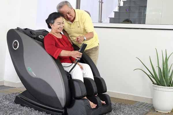 Ghế mát làm giảm những cơn đau nhức mỗi ngày