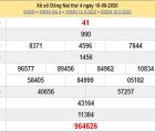 Thống kê KQXSDN ngày 23/09/2020- xổ số đồng nai thứ 4 hôm nay