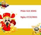 Phân tích XSHG 27/2/2021
