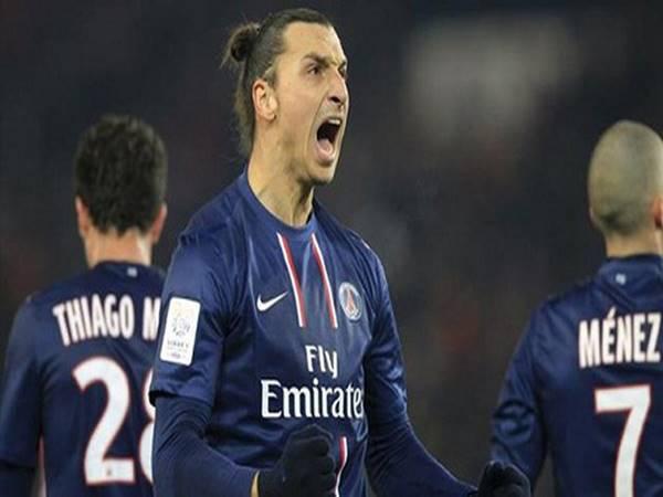 Zlatan Ibrahimovic trong màu áo Paris Saint-Germain (2012 – 2016)