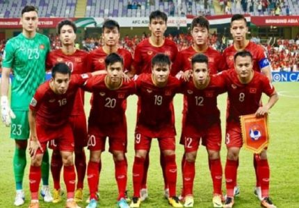 Bóng đá Việt Nam xếp thứ mấy châu Á