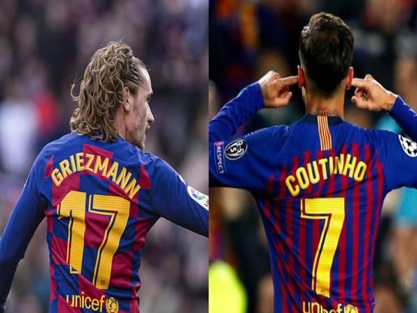 Tin bóng đá 2/4: Barca có thể bán Griezmann và Coutinho để gây quỹ