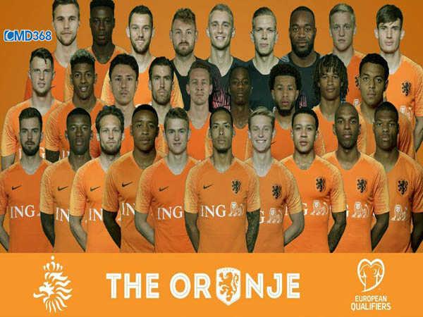 Hà Lan đã xuất sắc vượt qua vòng loại Euro 2020