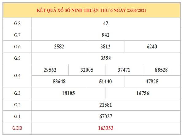 Nhận định KQXSNT ngày 2/7/2021 dựa trên kết quả kì trước