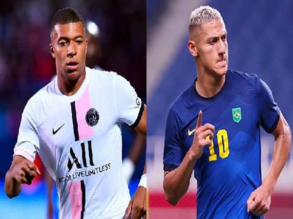 Chuyển nhượng bóng đá 24/8: PSG nhắm Richarlison thay Mbappe